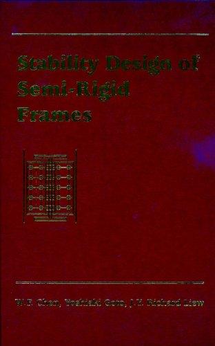 9780471076704: Stability Design of Semi-Rigid Frames
