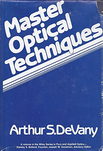 9780471077206: Master Optical Techniques (Pure & Applied Optics)