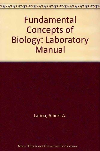 9780471078197: Fundamental Concepts of Biology: Laboratory Manual