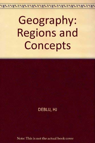 9780471080152: Geography: Regions and Concepts
