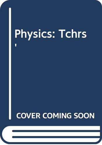Physics: Tchrs': Joseph W. Kane,