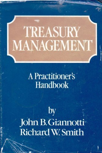 9780471080626: Treasury Management: A Practitioner's Handbook