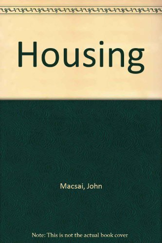 9780471081265: Housing