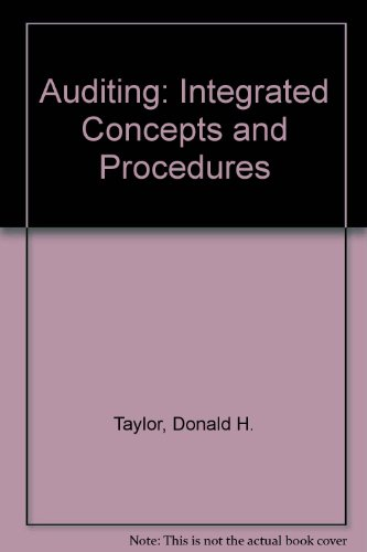 9780471081661: Auditing: Integrated Concepts and Procedures