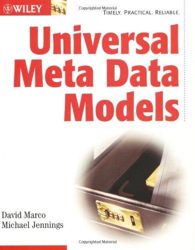 9780471081777: Universal Meta Data Models