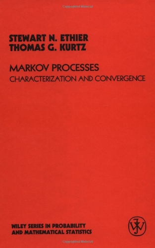 9780471081869: Markov Processes: Characterization and Convergence (Wiley Series in Probability and Statistics)