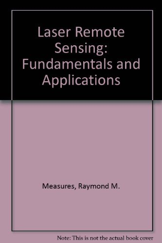 9780471081937: Laser Remote Sensing: Fundamentals and Applications