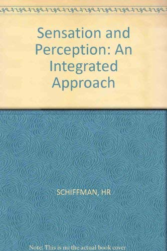 9780471082088: Sensation and Perception: An Integrated Approach