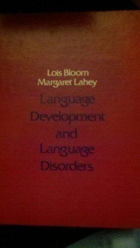 9780471082200: Language Development and Language Disorders (Wiley Series on Communication Disorders)