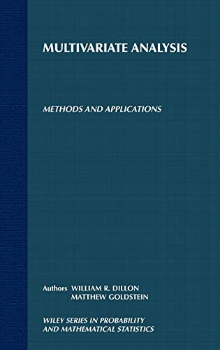9780471083177: Multivariate Analysis: Methods and Applications