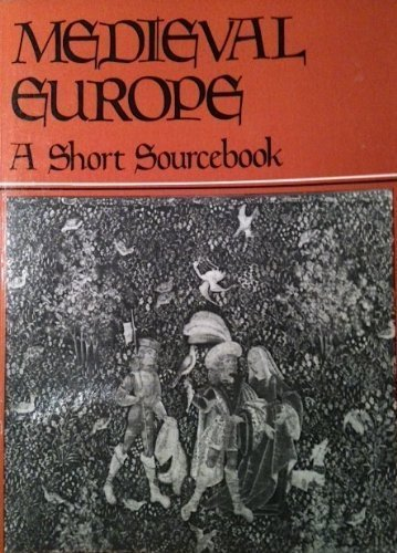 9780471083696: Medieval Europe: A Short Source Book