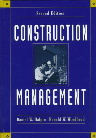 9780471083931: Construction Management