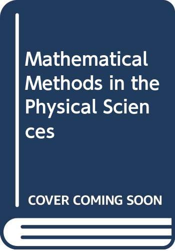 9780471084198: Mathematical Methods in the Physical Sciences