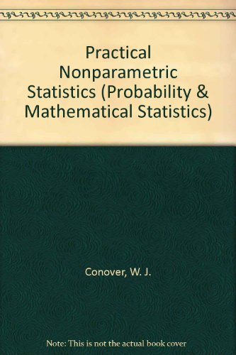 9780471084570: Practical Nonparametric Statistics (Probability & Mathematical Statistics)