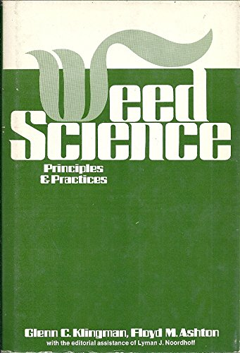 9780471084877: Weed Science: Principles and Practices