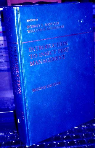 Introduction to Insect Pest Management. 2nd Ed.: Metcalf, Robert L.;Luckmann, William H.