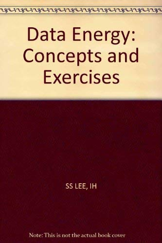 9780471086055: Data Energy: Concepts and Exercises