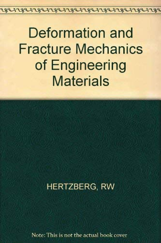9780471086093: Deformation and Fracture Mechanics of Engineering Materials