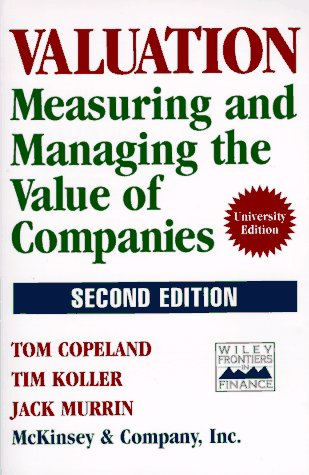 9780471086277: Valuation: Measuring and Managing the Value of Companies (Frontiers in Finance Series)