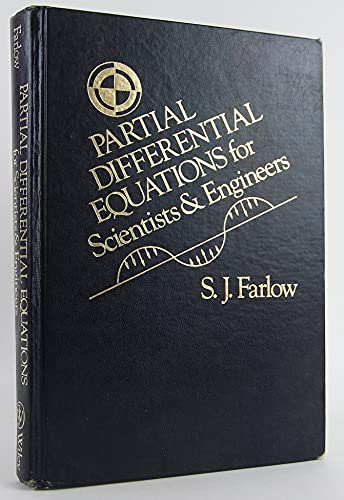 9780471086390: Partial Differential Equations for Scientists and Engineers
