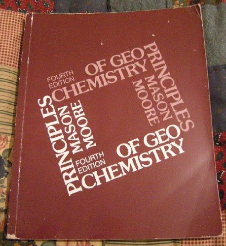 9780471086420: Principles of Geochemistry