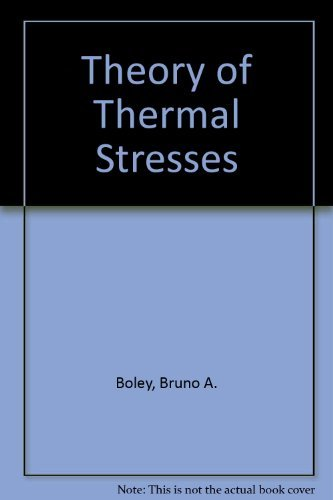 9780471086796: Theory of Thermal Stresses