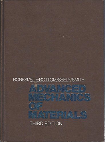 9780471088929: Advanced Mechanics of Materials
