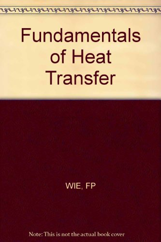 9780471089612: Fundamentals of Heat Transfer