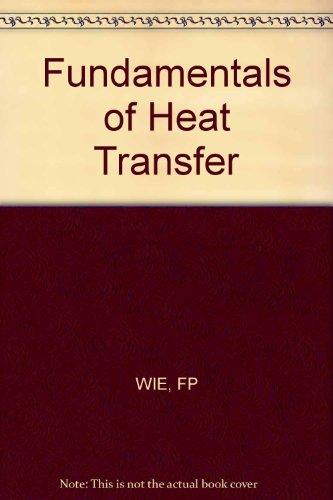 9780471089612: Fundamentals of Heat Transfer