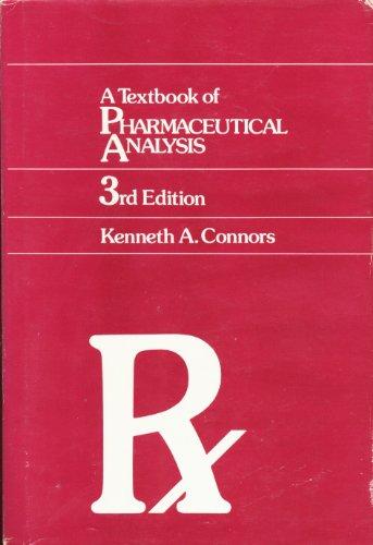 Pharmaceutical Analysis Book
