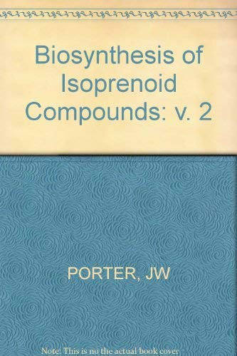 9780471090380: Biosynthesis of Isoprenoid Compounds: v. 2