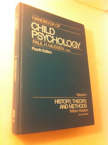9780471090571: Handbook of Child Psychology, History, Theory, and Methods (Volume 1)