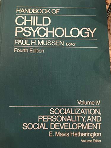 9780471090656: Handbook of Child Psychology, Socialization, Personality and Social Development (Volume 4)