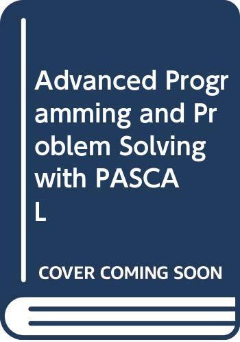 9780471091554: Schneider Advanced Programming and Pro