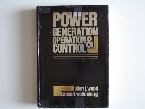 9780471091820: Power generation, operation, and control
