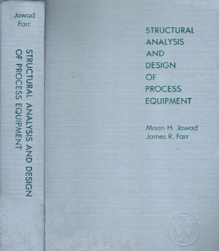 9780471092070: Structural Analysis and Design of Process Equipment