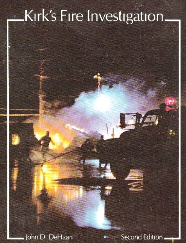 9780471092797: Fire Investigation: Including Fire-related Phenomena