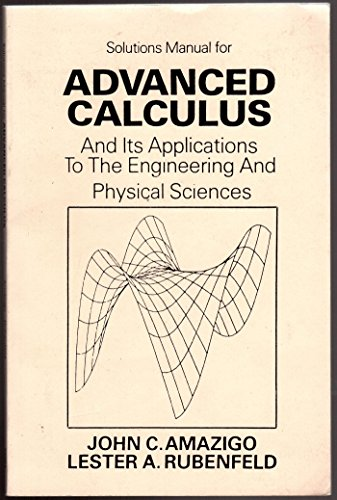 9780471092810: Advanced Calculus and Its Applications to the Engineering and Physical Sciences: Solutions Manual