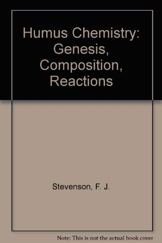 9780471092995: Humus Chemistry: Genesis, Composition, Reactions