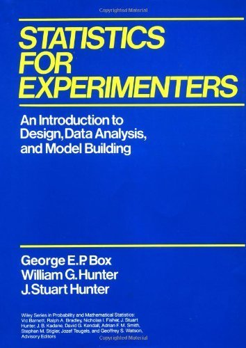9780471093152: Statistics for Experimenters: An Introduction to Design, Data Analysis and Model Building (Probability & Mathematical Statistics)