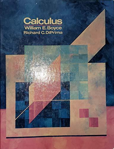 9780471093336: Calculus