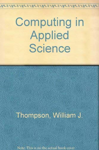 9780471093558: Computing in applied science