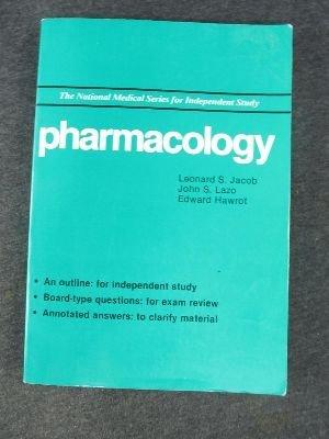 Pharmacology (National Medicine Series): Jacob, Leonard S.