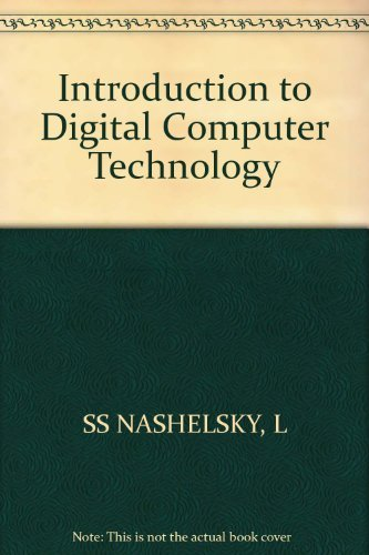 9780471096467: Introduction to Digital Computer Technology