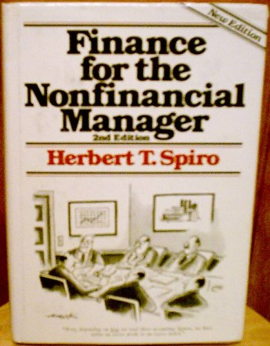 9780471097327: Finance for the Nonfinancial Manager
