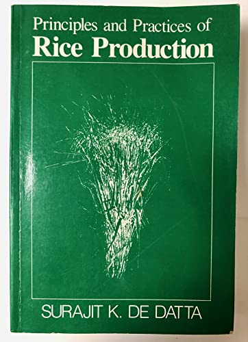 9780471097600: Principles and Practices of Rice Production