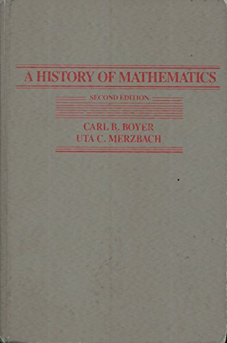 9780471097631: A History of Mathematics