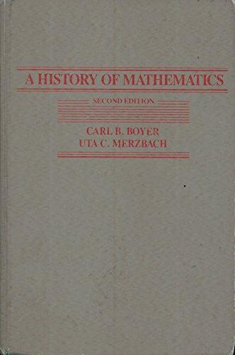 9780471097631: A History of Mathematics
