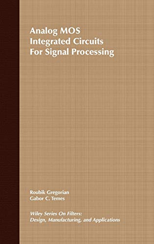 9780471097976: Analog Mos Integrated Circuits for Signal Processing