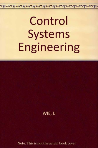 9780471098140: Control Systems Engineering